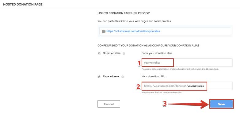 How to accept donations